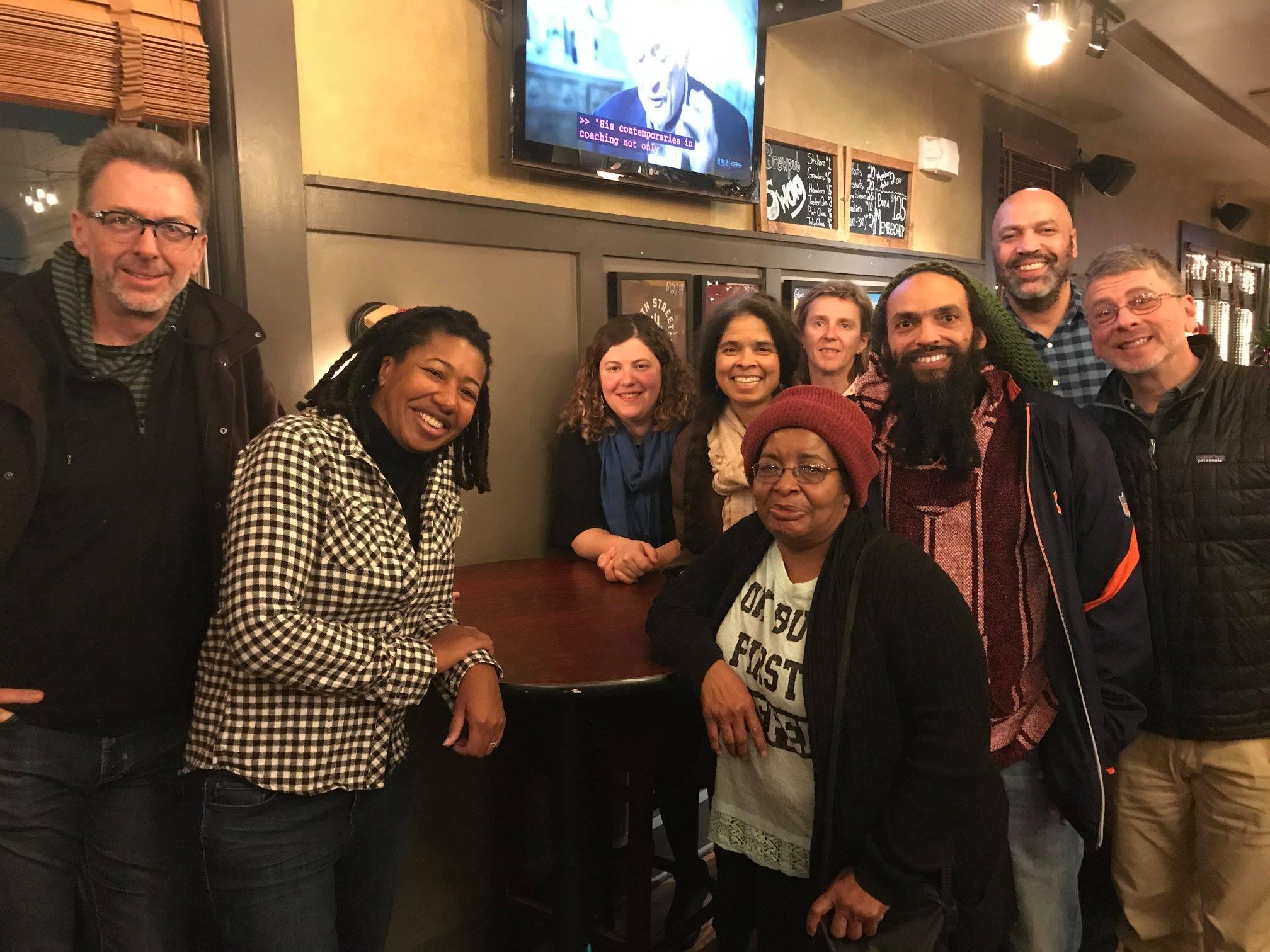 group photo of members of co-op dayton