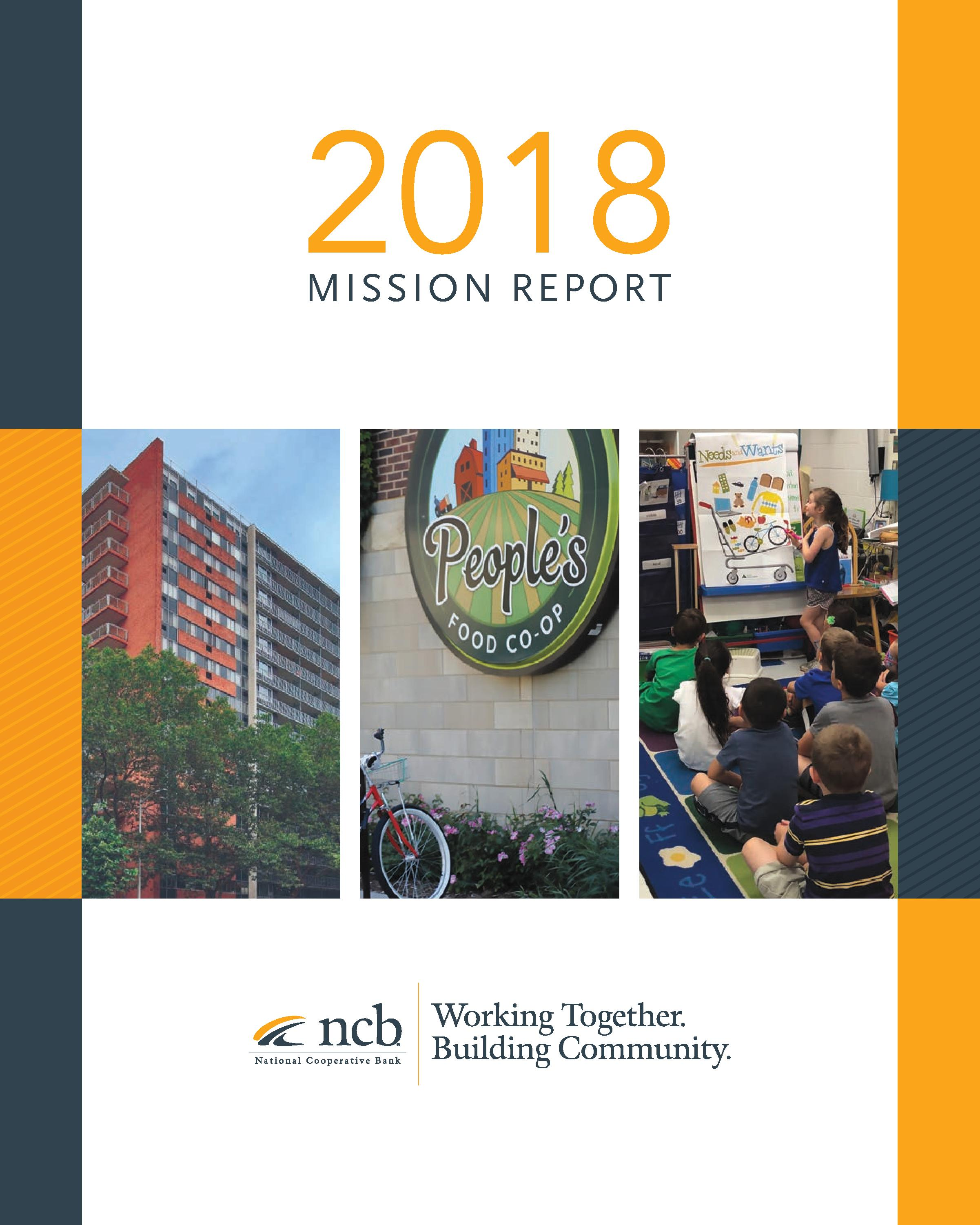 National Cooperative Bank Commits $240.4 Million to Initiatives Serving Low-and Moderate-Income Communities and New Cooperative Development in 2018