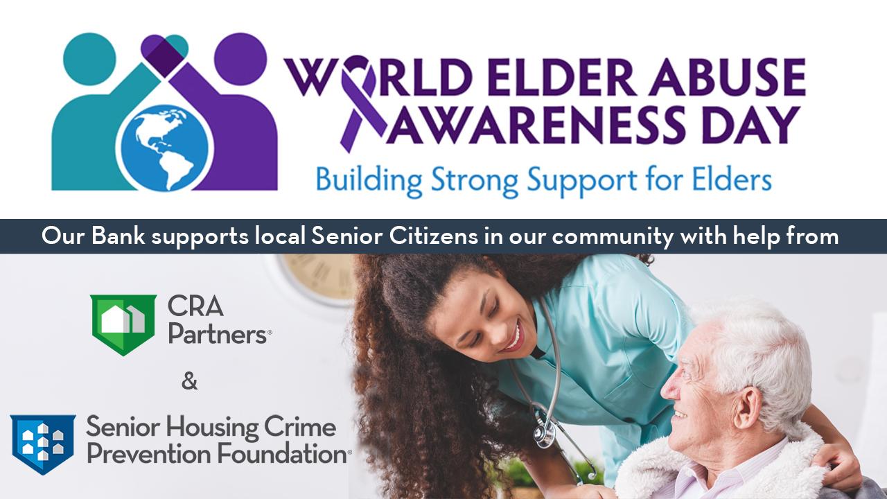 National Cooperative Bank & Senior Housing Crime Prevention Offer Tips to Help Prevent Elder Financial Abuse