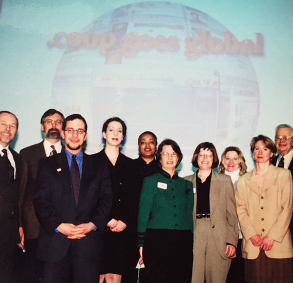 team launches the coop domain in 2001