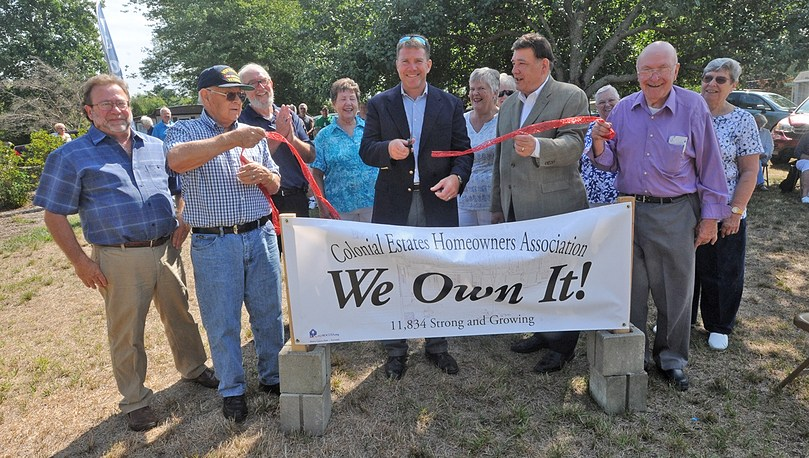 Colonial Estate Homeowners Association Says 'We Own It'